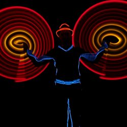 Bunter Show-Mix comedy zauberei jonglage feuer led_12-5