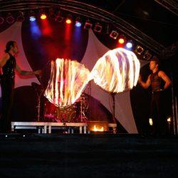 Bunter Show-Mix comedy zauberei jonglage feuer led_28