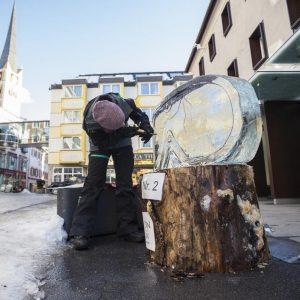 Eisskulptur eisschnitzen eis design Leinup agentur münchen 06