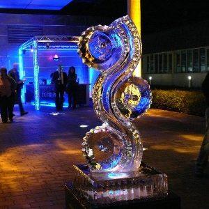 Eisskulptur eisschnitzen eis design Leinup agentur münchen 39