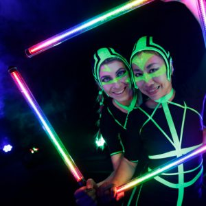 Led Show events muenchen Duo hochzeit shows