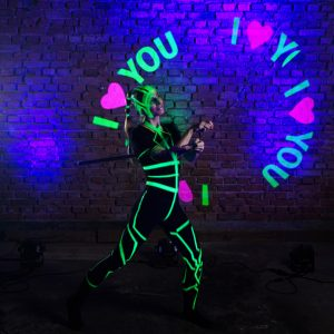 Led show ingolstadt leinup agentur_I_love_you