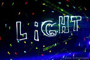 Licht Jongleur Lightpainting Show bei Leinup Künstleragentur München