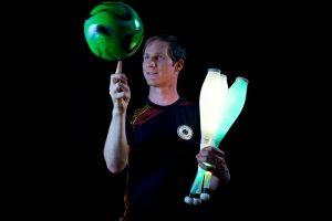 LightPaint-Fussball