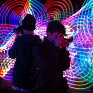 LightPaint Show Fotos Leinup Künstleragentur München bild2