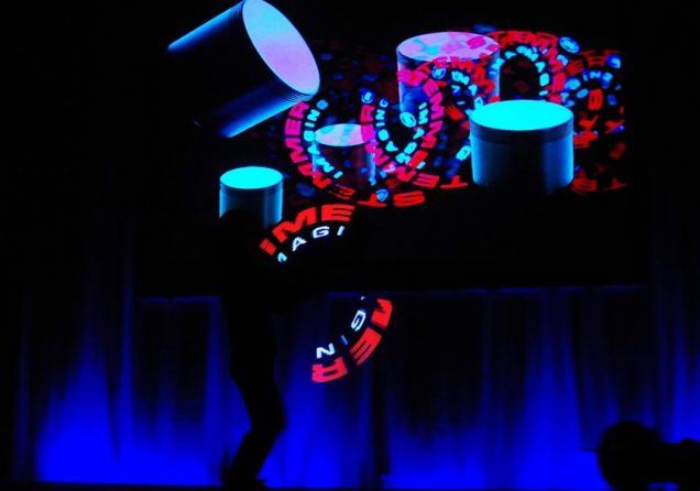 Lightpaintingshow Hauptbild