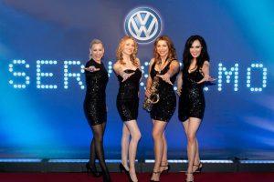 damenband VW präsentation pkw