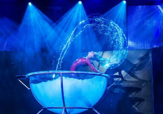 waterbowl wassershow solo duo artisten bei lein bilder 2020
