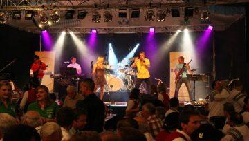 Partyband aus München bei Leinup Agentur web