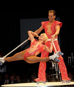 Rollerskate Akrobatik bei Leinup Agentur muenchen 11