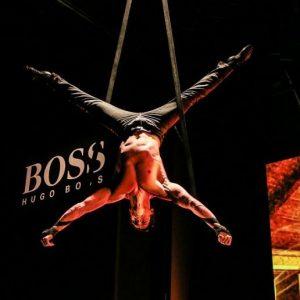 event akrobat akrobatik show bei leinup künstleragentur