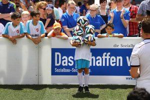 Fussball Jongleur bei leinup agentur münchen bilder 06