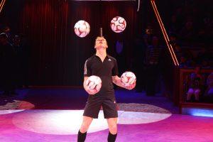 Fussball Jongleur bei leinup agentur münchen bilder 08