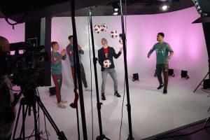 Fussball Jongleur bei leinup agentur münchen bilder 11