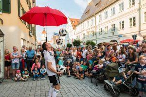 Fussball Jongleur bei leinup agentur münchen bilder 13