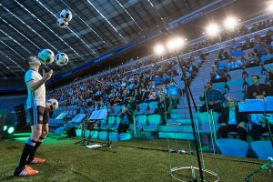 Fussball Jongleur bei leinup agentur münchen bilder 15