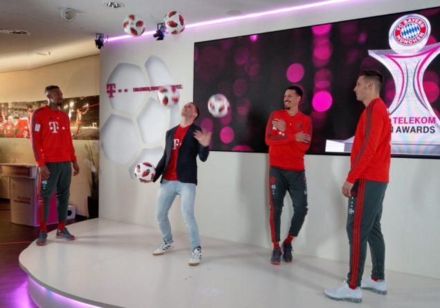 Fussball Jongleur bei leinup agentur muenchen web