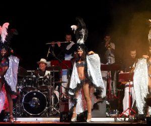 Abertura-alle+Band Samba-Show Leinup Agentur München