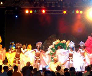 Finale-Samba-Show Leinup Agentur München