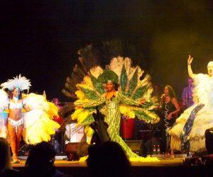 Live-Samba-Show Leinup Agentur München