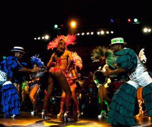 Samba-Samba-Show Leinup Agentur München
