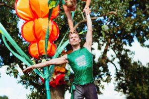 Acrobatic Shows Duo Leinup Agentur Bilder