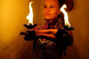 Feuer Jonglage Show Bilder 01