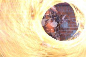 Feuer Jonglage Show Bilder 03