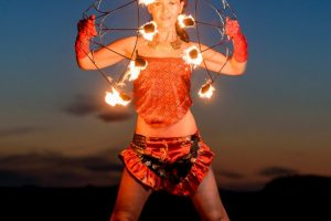 Feuer Jonglage Show Bilder 10