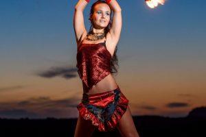 Feuer Jonglage Show Bilder 11