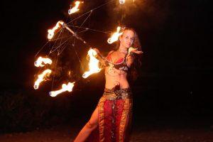 Feuer Jonglage Show Bilder 15